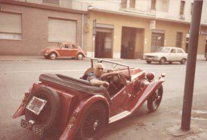 Federico Bedeschi, padre di Roberto, nel 1980 circa